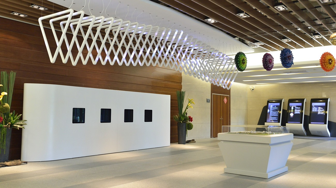 Interior Design-Hsinchu Biomedical Science Park: Healthy Living Pavilion.