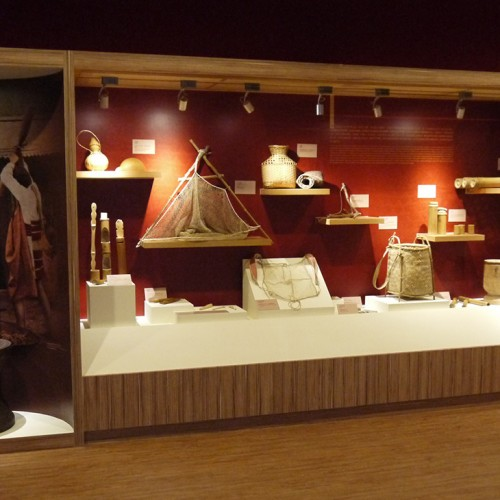 Interior Design-Fusing Township History and Cultural Center.